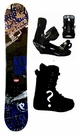 151cm  Palmer Zebra-Blue Camber Mens Snowboard, Boots, Bindings Package or Deck, U Build It