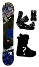 151cm  Palmer Zebra-Gray Rocker Mens Snowboard, Boots, Bindings Package or Deck, U Build It