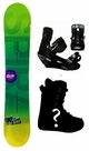 151cm  TwoBOne Spiral-Green Camber Mens Snowboard, Boots, Bindings Package or Deck, U Build It