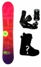 151cm  TwoBOne Spiral-Red Rocker Mens Snowboard, Boots, Bindings Package or Deck, U Build It