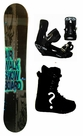 152cm  Airwalk Logo-Glow-Blue Rocker Mens Snowboard, Boots, Bindings Package or Deck, U Build It