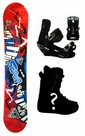 150 155 160 Black Fire Scoop-Red Camber or Rocker Snowboard, Boots, Bindings Package or Deck, U Build It