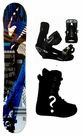 152cm  Division Team-Blue Camber Mens Snowboard, Boots, Bindings Package or Deck, U Build It