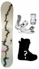 sold out  Franok Genesis-White Camber Mens Snowboard, Boots, Bindings Package or Deck, U Build It
