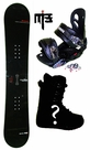 152cm  Kissmark Real-Trap  Mens Snowboard Package, U Build It