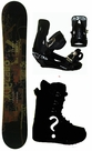 153cm  Vision Park  Mens Snowboard Package, U Build It
