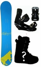 154cm  802 Yellow-Cow  Mens Snowboard Package, U Build It