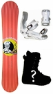 154cm  Avalanche Cheff  Mens Snowboard Package, U Build It