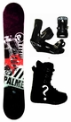 154cm  Palmer Basic-Red Camber Mens Snowboard, Boots, Bindings Package or Deck, U Build It