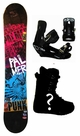 154cm  Palmer Punk-Red Rocker Mens Snowboard, Boots, Bindings Package or Deck, U Build It