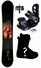 154cm  Silence Katana  Mens Snowboard Package, U Build It
