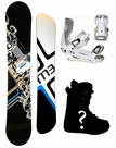 155cm  M3 Millenium Three Convoy  Mens Snowboard Package, U Build It