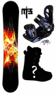 155cm  Sims Source  Mens Snowboard Package, U Build It