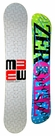 156cm  M3 Millenium Three Discord-Checker  Mens Snowboard Package, U Build It