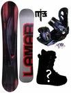 157cm  Lamar Intrigue  Mens Snowboard Package, U Build It