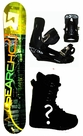 157cm  Search 21 Lite  Mens Snowboard Package, U Build It