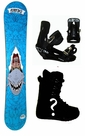 158cm  Airtracks Rider Mens  Snowboard Package, U Build It
