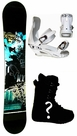 159cm Wide Maffia N.Y.-World-Trade-Center  Mens Snowboard Package, U Build It