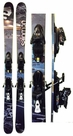 161cm Salomon Lady Used Skis with Salomon Z10 Bindings Package