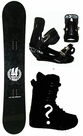 163cm Wide 44 Ultra  Mens Snowboard Package, U Build It