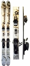 165cm Rossignol S-80 Used Skis with Rossignol Axium 100 Bindings Package