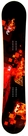 167cm Wide Black Fire Fire  Mens Snowboard Package, U Build It