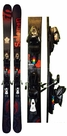 185cm Salomon Lord Rocker Reverse-Camber Used Skis with Salomon Z12 Bindings Package