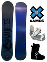 90 95 100 105 115 &125cm X-Games Chopper Kids Snowboard Boots & Bindings Package Deal or deck, U build it