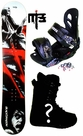 ?cm  Black Dragon Reaper-Red  Mens Snowboard Package, U Build It