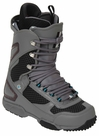 DC Ghost Lace Snowboard Boots Mens Size 7 equals Womens 8.5 Gunmetal