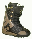 DC Graphix-Lace Lace Snowboard Boots Mens Size 8 equals Womens 9.5 Brown