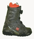 DC Super-Park Boa Snowboard Boots Mens Size 7 equals Womens 8.5 Olive-Night-Black