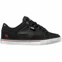 DVS Carson SP2 Hart Shoes 10 Black White Red Skate Shoes