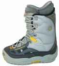 North Wave Legend Snowboard Boots Mens 7.5 Silver