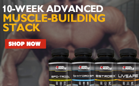 10-Week Advanced Muscle-Building Stack