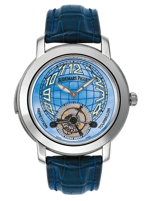 Image of Audemars Piguet Jules Audemars Minute Repeater Tourbillon Mens Watch 25858BC.OO.D019CR.01