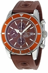 Breitling Superocean Brown Dial Chronograph Automatic Mens Watch A1332033-Q553BROD