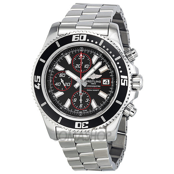 超值:Breitling Superocean Chronograph II Black and Red Abyss Dial Automatic Mens Watch A13341A8-BA81SS-奢品汇 | 海淘手表 | 腕表资讯