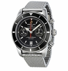 Breitling SuperOcean Heritage Chronographe 44 Automatic Black Dial Mens Watch A2