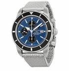Breitling Superocean Heritage Chronographe Blue Dial Automatic Mens Watch A1332024-C817SS