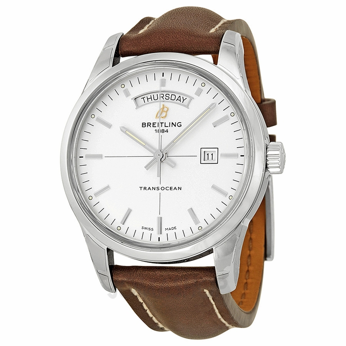 breitling transocean day date automatic s
