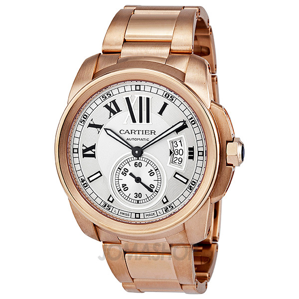 Cartier Gold Watch Mens Cartier Rose Gold Men's Watch