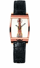 Corum Golden Bridge 18kt Rose Gold Mens Watch 63123701102