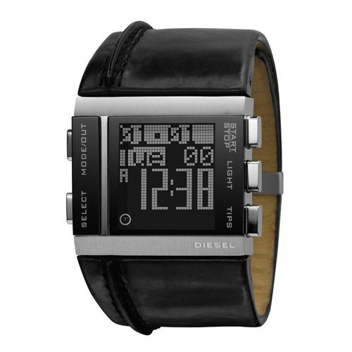 diesel black digital cuff s dz7142 jomashop