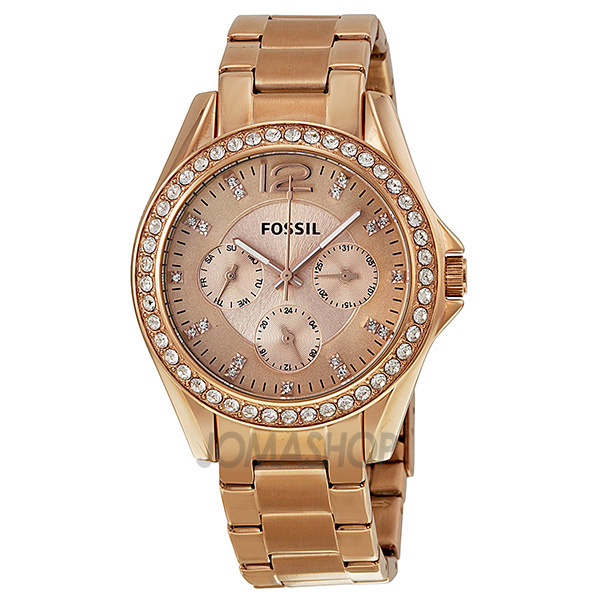 Guess rose gold women watches