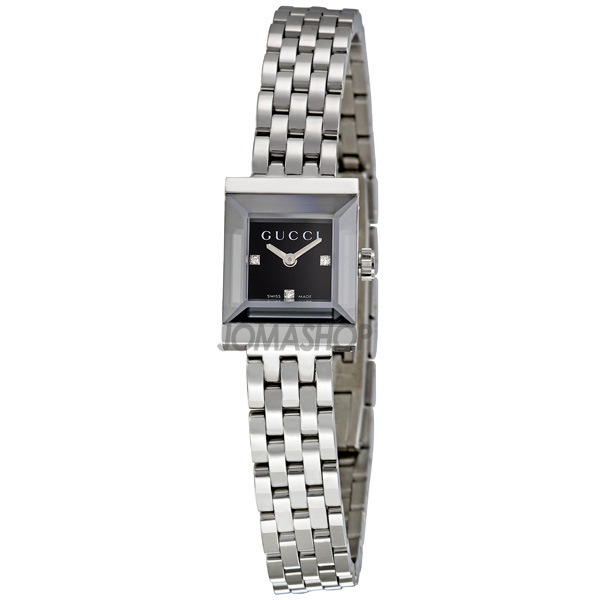 c61a961ccd3 Gucci G Frame Diamond Dial Ladies Watch YA128507 on PopScreen