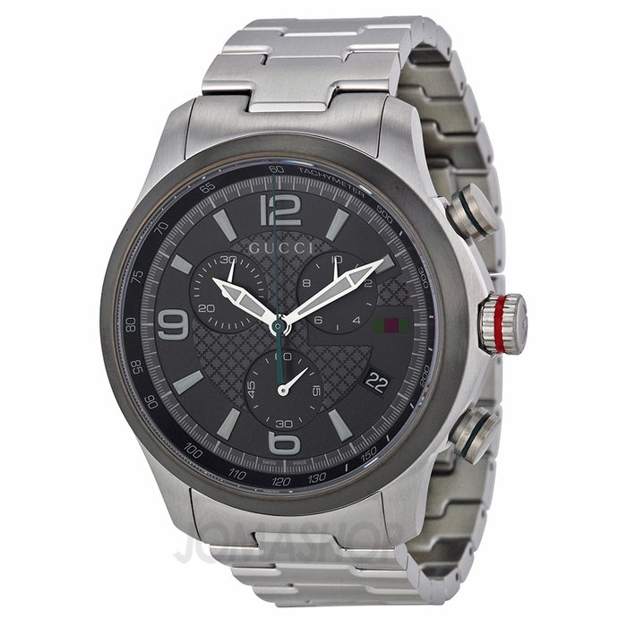 gucci g timeless grey stainless steel s