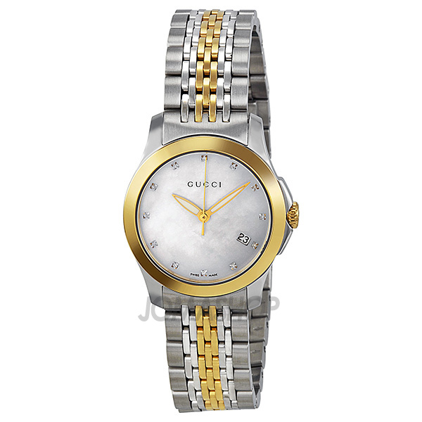 Gucci Two Tone Ladies Watch on Gucci Watches Ladies