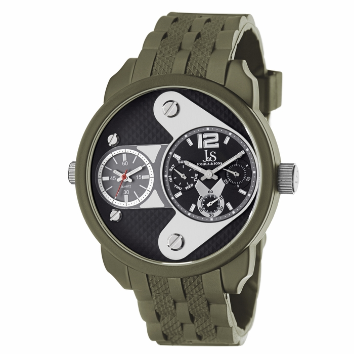 joshua and sons multi function black green ion plated