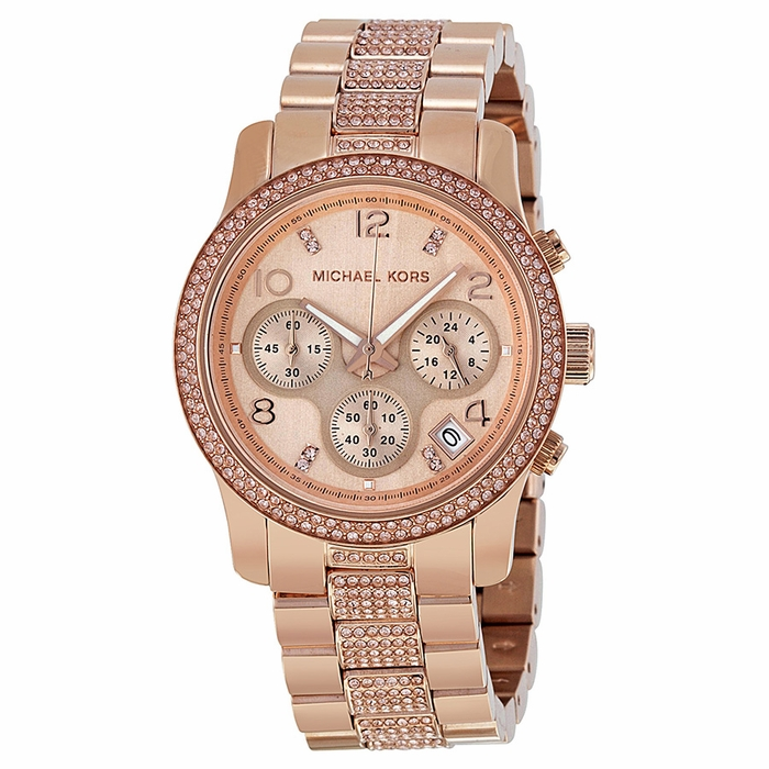 Rose Gold Watch Michael Kors Chronograph Rose Gold Michael Kors Watch